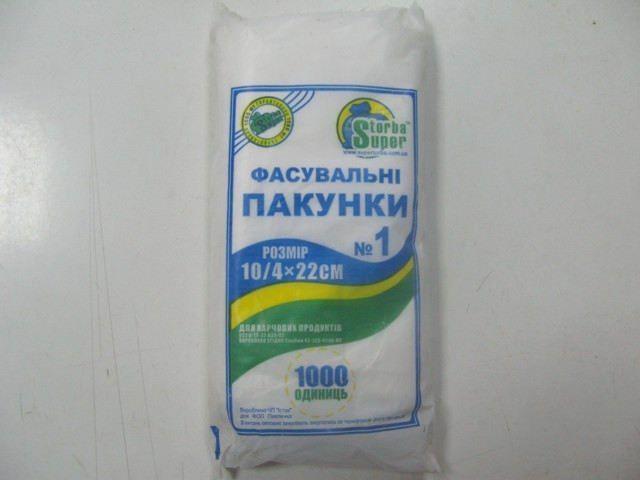 Фасов.пакет №1 (18х22) Супер Торба (1000шт) (1 пач)