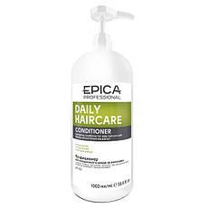 Кондиционер EPICA Daily Care для ежедневного ухода с маслом бабассу и экстрактом зеленого чая (1000 мл)