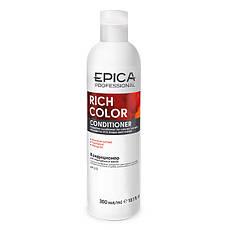 Кондиционер EPICA Rich Color для окрашенных волос с маслом макадамии (300 мл)