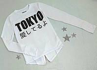"""Батник підлітковий """"TOKYO"""", розмір 152, 158, 164, 170, білий, фото 1"""