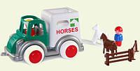 Машина для перевозки лошадей, 25 см (1259)