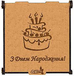 """Подарок на День Рождения. Подарочный набор чая """"З Днем Народження"""""""