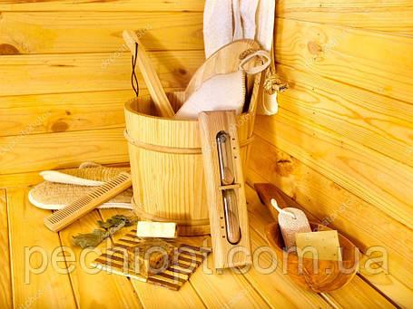 Аксессуары для бани кадушка для бани, шайки для саун, фото 2