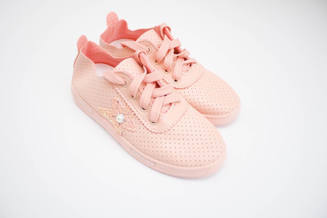 Детские мокасины кеды(60-4 розовой)