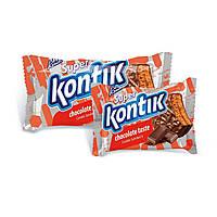 Печенье Супер Контик шоколадный вкус 100г (50)