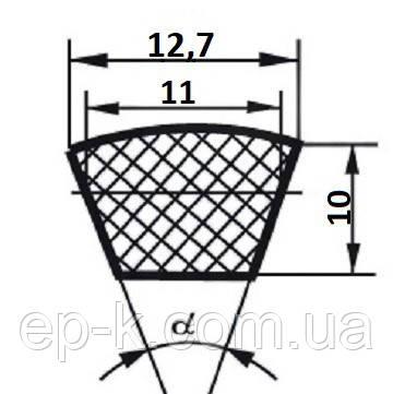 Ремень клиновой  SPA-950