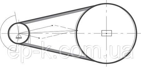 Ремень клиновой  SPA-950, фото 3