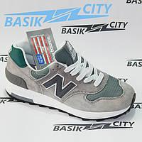 Женские кроссовки New Balance 1400 серо-зеленый