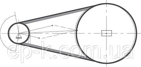 Ремень клиновой  SPA-1032, фото 3