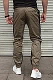Мужские штаны джоггеры с лампасом Сл 1310, фото 4