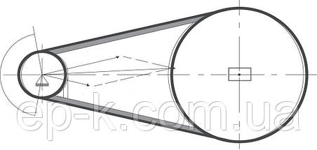 Ремень клиновой  SPA-1120, фото 3