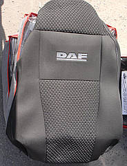 Чехлы VIP на DAF XF евро 6 (1+1) 2013-17 автомобильные модельные чехлы на для сиденья сидений салона DAF Даф
