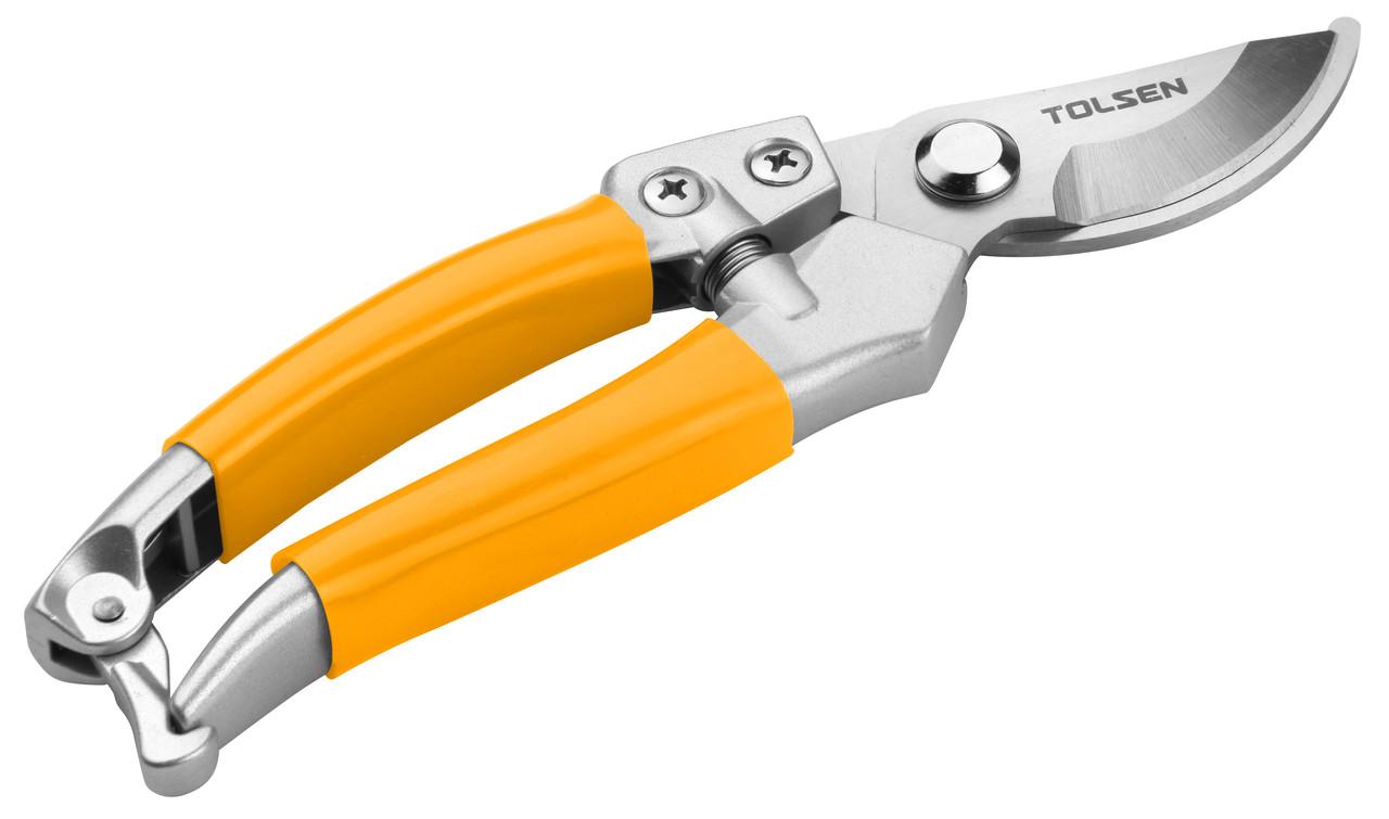 Секатор Tolsen 200 мм нержавеющие лезвия (31032) ручка из сплава цинка