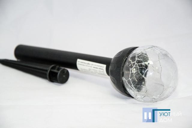 Газонні світильник на сонячній батареї Lemanso CAB118 RGB