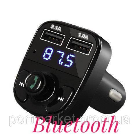 Car X8 Premium 2USB Bluetooth .FM модулятор Трансмиттер