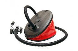 Насос Borika 4 л ножной / жабка для быстрого накачивание изделий из пвх / лодок / надувных матрасов
