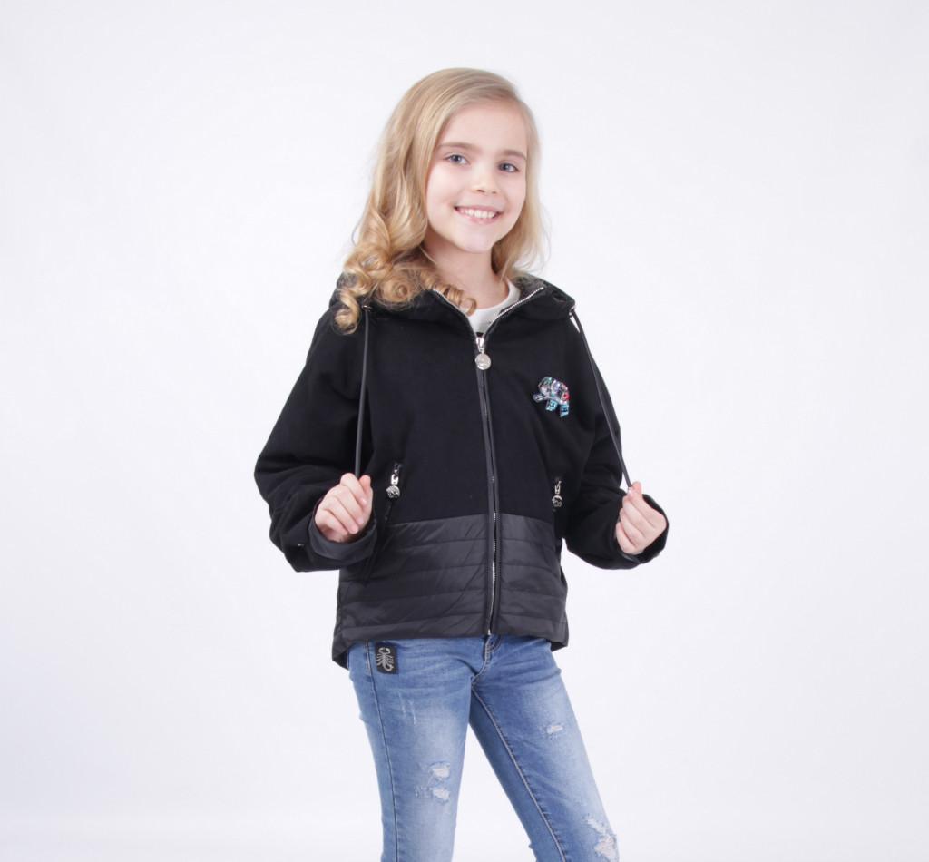 Детская демисезонная куртка для девочки от LUSIMING 1909, размеры 140-164