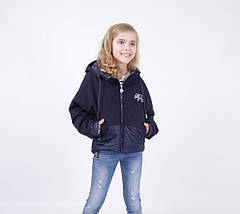Детская демисезонная куртка для девочки от LUSIMING 1909, размеры 140-164, фото 2