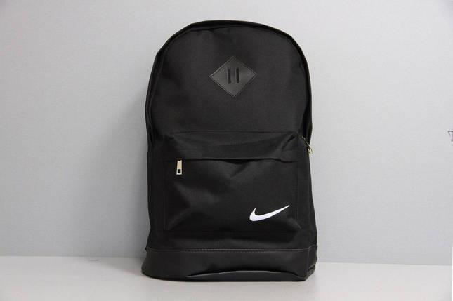 Рюкзак городской мужской, женский, для ноутбука   Nike (Найк) Черный, фото 2