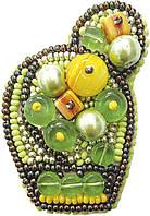 """БП-187 Набор для изготовления броши Crystal Art """"Яркий кактус"""" , Код товара: 1065530"""