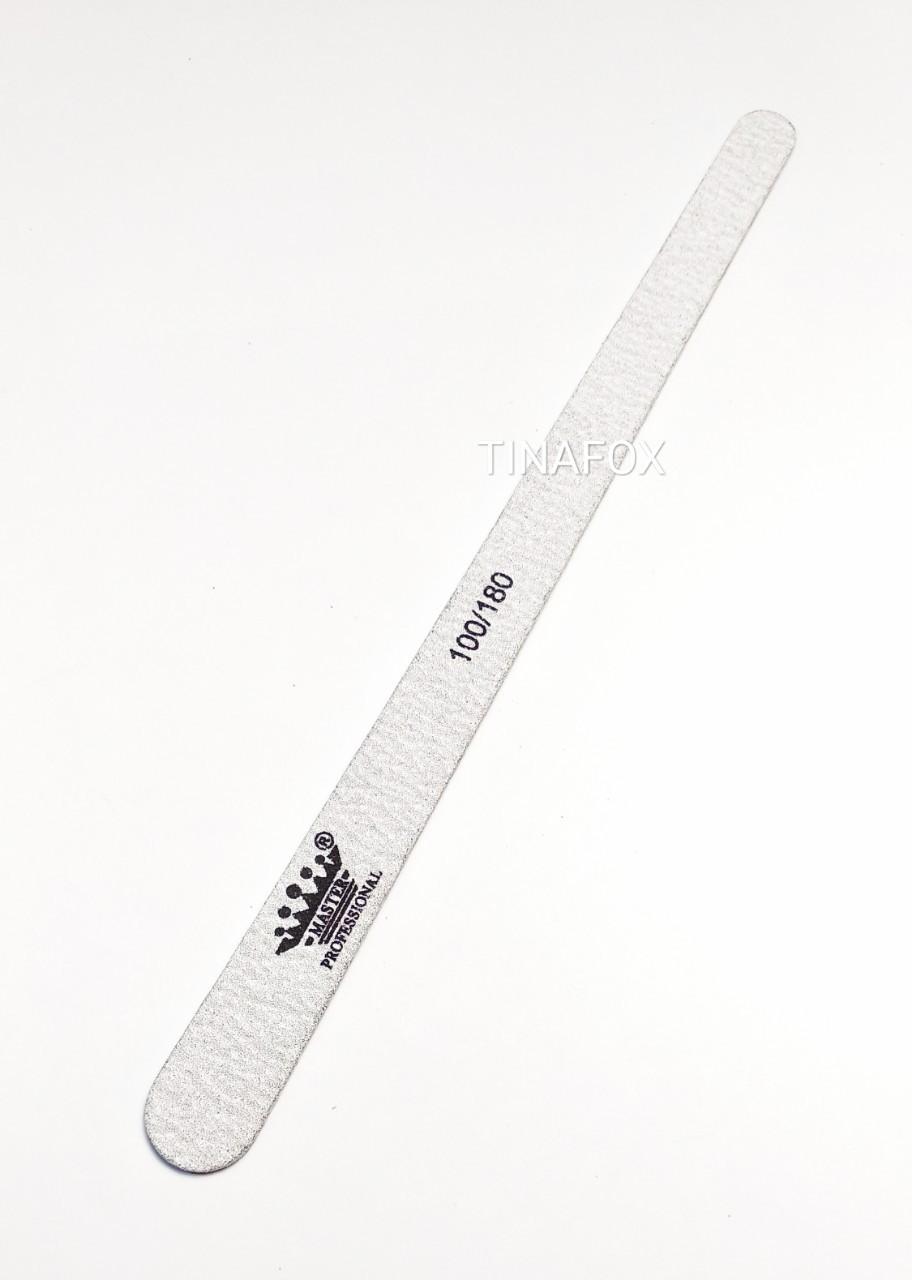Пилочка для  ногтей овальная Master Professional, 100/180 грит,