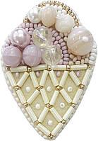 """БП-189 Набор для изготовления броши Crystal Art """"Десерт"""", Код товара: 1065532"""