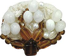 """БП-195 Набор для изготовления броши Crystal Art """"Хлопок"""" , Код товара: 1065717"""