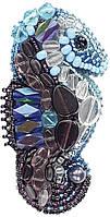 """БП-198 Набор для изготовления броши Crystal Art """"Морской конёк"""" , Код товара: 1065754"""