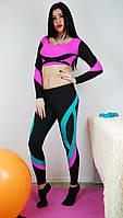 Тренировочный комплект одежды для спорта и фитнеса 42-48р