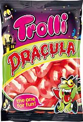 Жевательные конфеты Дракула Trolli