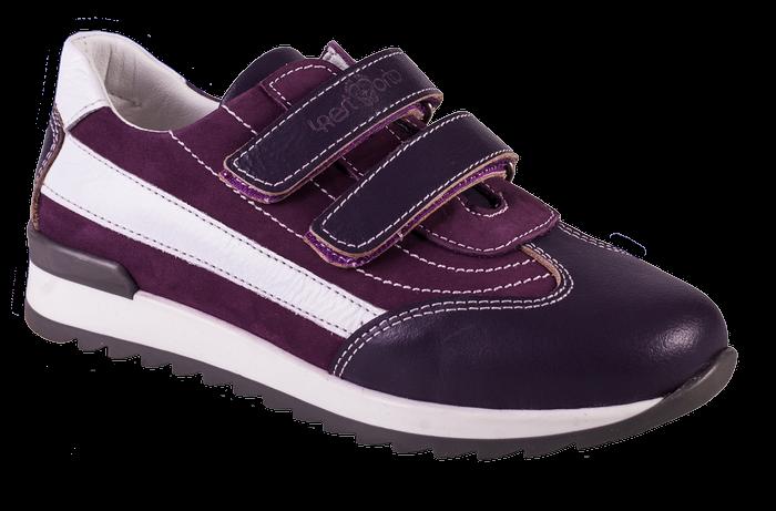 Кроссовки ортопедические 06-558, фиолетовый-белый, 21