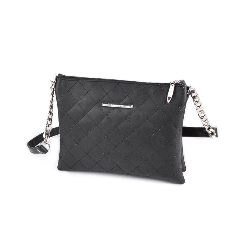 d4729666e085 Черная сумка-клатч М202-48 на молнии через плечо: продажа, цена в ...
