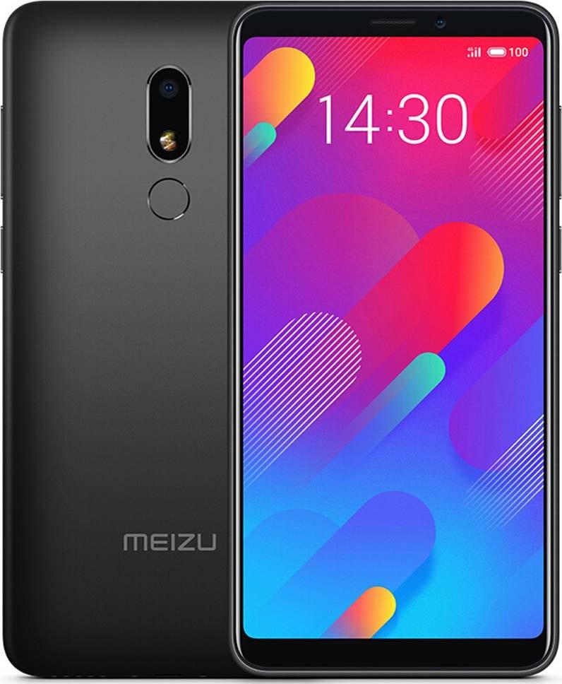 Сенсорный мобильный телефон Meizu M816H M8 Lite 3/32Gb LTE Dual Black EU