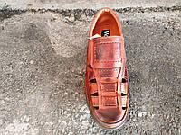 Сандалии закрытые кожаные мужские 39 -46 р-р, фото 1