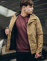 Мужская бежевая куртка Staff windstorm beige, фото 1