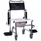 Кресло-каталка с санитарным оснащением JBS OSD-JBS367A, фото 3