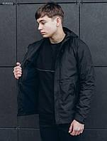 Мужская черная куртка Staff  windstorm black, фото 1