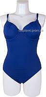 Женский купальники слитный Atlantic beach 69936 синий