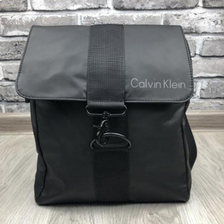 41610b689470 Новинка женская сумка-планшетка Calvin Klein черная текстиль ручка через  плечо унисекс Кельвин Кляйн реплика