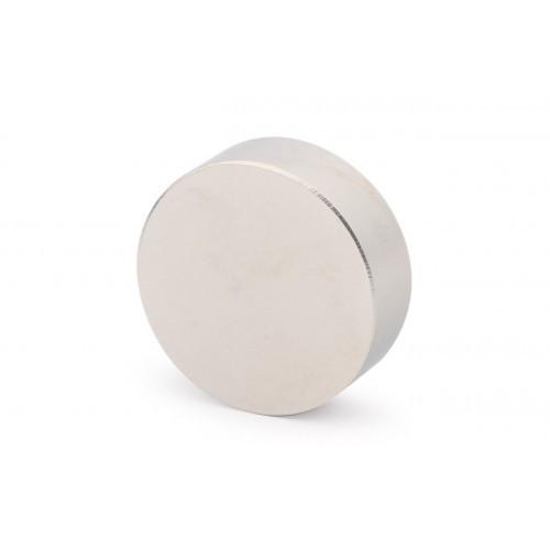 Неодимовий магніт (неодимовый магнит) ø45 х 15