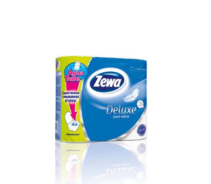 Туалетний папір 3-шаровий ZEWA 4 рулони