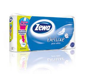 Туалетний папір 3-шаровий ZEWA 8 рулонів