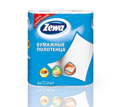 Рушники паперові ZEWA кухонні (2шт.)