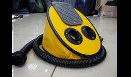 Насос Borika 7 л ножной / жаба механический для быстрого надувания лодок, изделий из пвх