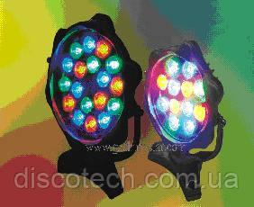 Прожектор LED 1W*12 SL-Y150 SD-A12 RGB