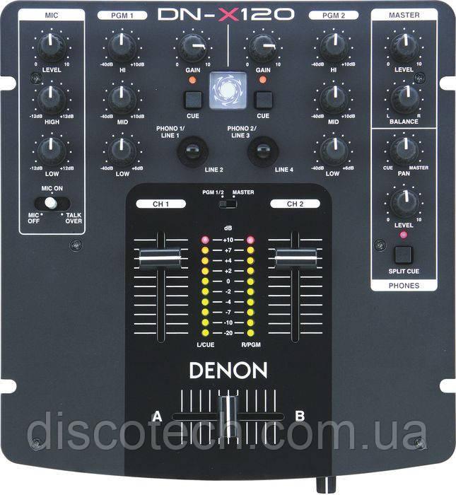 Микшерный пульт Denon DJ DN-X120