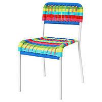 Детский стул Ikea разноцветный
