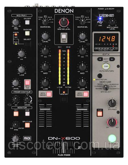 Микшерный пульт Denon DJ DN-X600