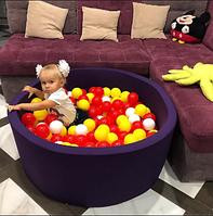 Детский сухой бассейн 90*40см, 200шт шариков, фото 1
