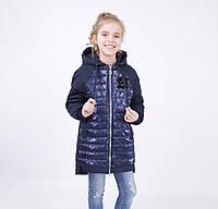 Детская демисезонная куртка для девочки от ANERNUO 19107, размеры 130-170